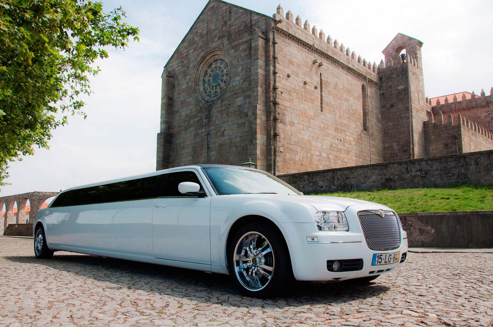 Limoeventos, Limousines, Aluguer de Limousines, Veículos, Limousine Chrysler