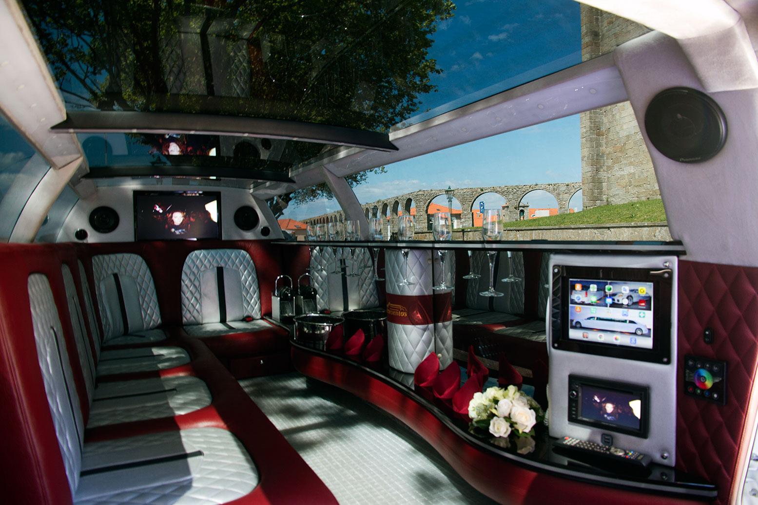 Limoeventos, Limousines, Aluguer de Limousines, Veículos, Limousine Cadillac
